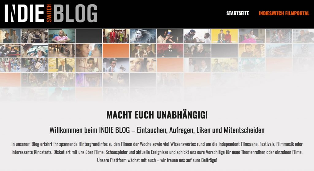 Indieswitch Filmblog