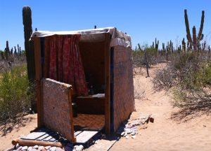 """Dry toilet"" / Komposttoilette Eco-Farm © Nina Fabienne Scholz"