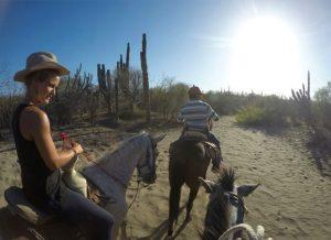 Ausritt durch die Wüste in Baja California © Nina Fabienne Scholz