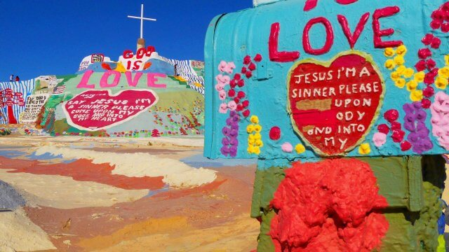 Salvation Mountain ©ninafabienne scholz